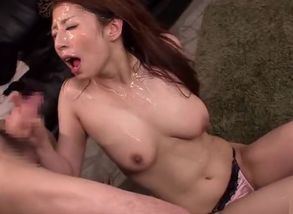 Pleasuring breasty japanese  Hina..