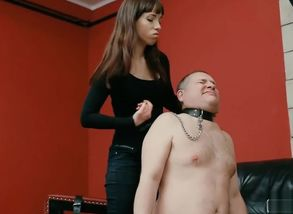 Hungarian Brown-haired Face Spanking..