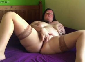 Fat purple fake penis selfie found on..