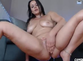 Highly squirty step mother tugging for