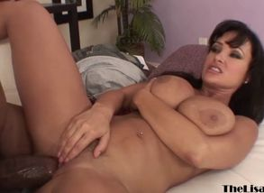 Wondrous cougar lisa ann railing big..