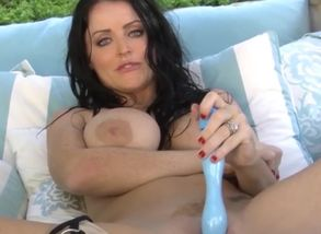Dark haired Honey Sophie Dee Slams Her..