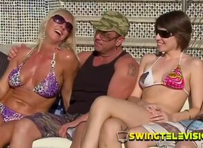 Red-hot swinger is received enjoy and..
