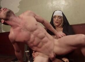 Transgender princess nun penalizing..
