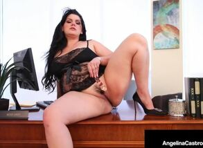 Lush vag angelina castro wedges her..