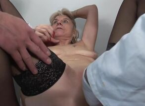 French Mature Cockslut Fabienne and..
